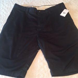Men's NWT Volvo's Shorts Black Stretch Sz 30